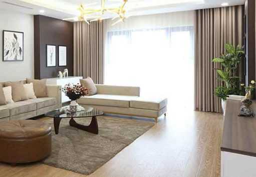 Rèm phòng khách chống nắng