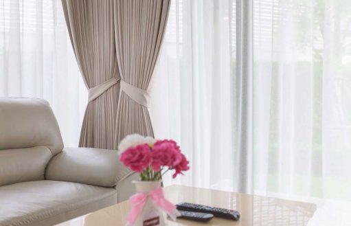 Rèm vải đẹp phòng khách