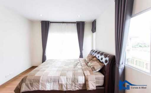 Rèm vải phòng ngủ cản sáng