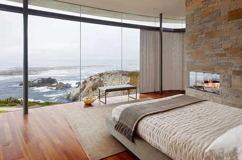 Rèm vải cho nhà ven biển