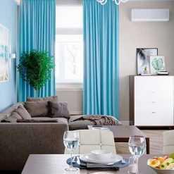 Mẫu rèm phòng khách 1 màu