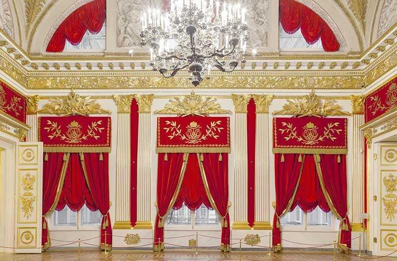 Rèm cung điện Buckingham