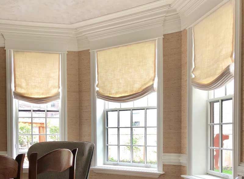 Mẫu rèm roman cửa sổ