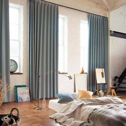Mẫu rèm cửa phòng ngủ đẹp chống nắng RCN01