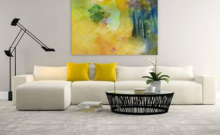 Phong cách thiết kế phòng khách hiện đại