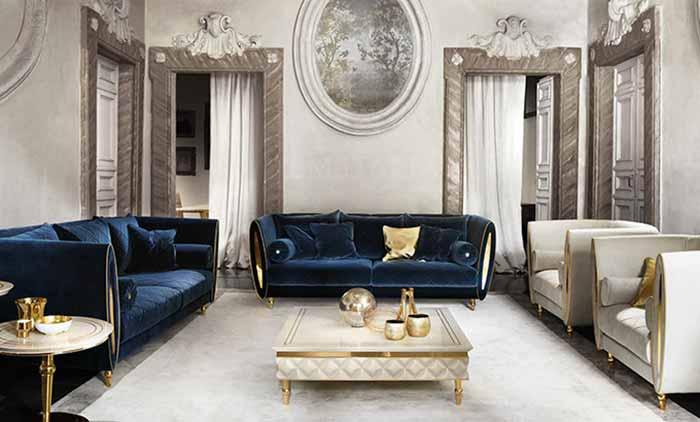 Phòng cách Art Deco phòng khách