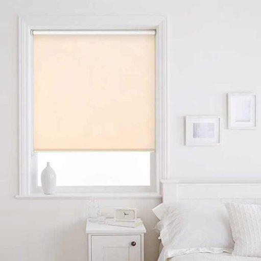 Rèm cửa cuốn cách nhiệt phòng ngủ