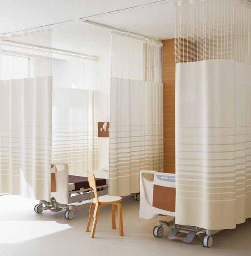 Rèm ngăn giường y tế bệnh viện