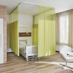 Rèm ngăn phòng y tế bệnh viện RYT05
