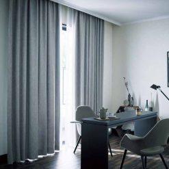 Rèm vải châu âu phong cách hiện đại RV