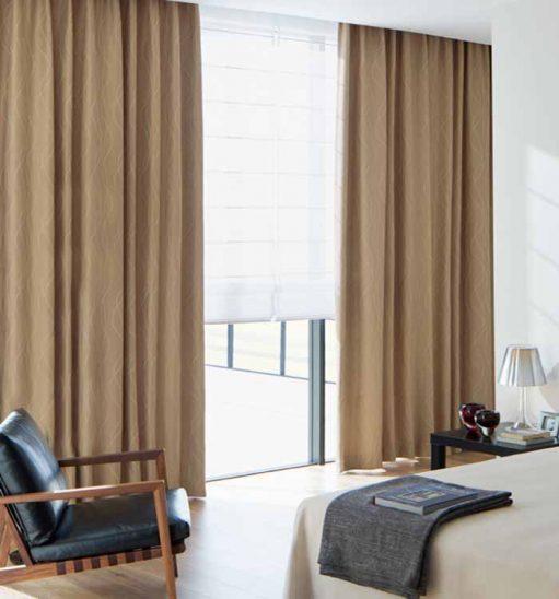 Rèm vải đẹp sang trọng chất lượng cao RV01