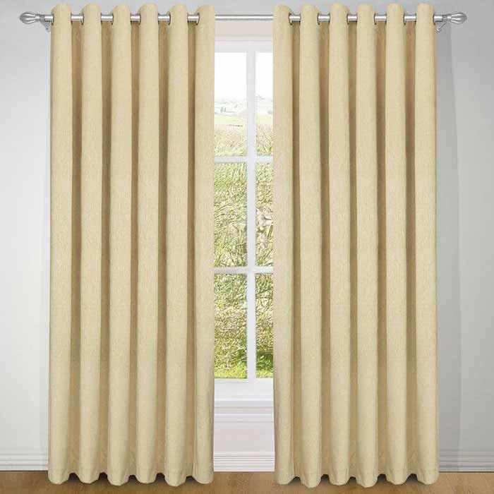 rèm vải giá rẻ phòng ngủ trơn một màu RGR15