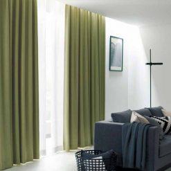 Rèm vải giá rẻ tphcm hiện đại chống sáng RGR16