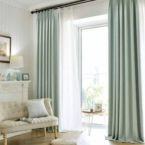 mẫu rèm cửa phòng khách đẹp giá rẻ RCK03