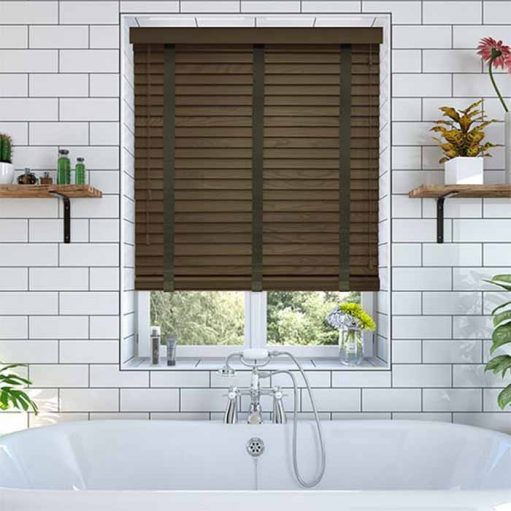 mẫu rèm gỗ đẹp cho cửa sổ RG17