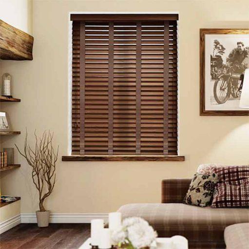 Rèm cửa sổ bằng gỗ cao cấp sang trọng RCS14