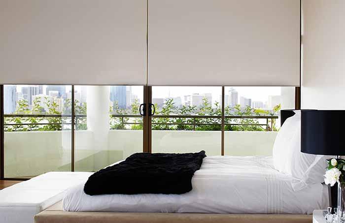 Rèm cuốn phòng ngủ hiện đại đẹp