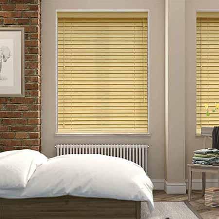 Rèm gỗ phòng ngủ sang trọng