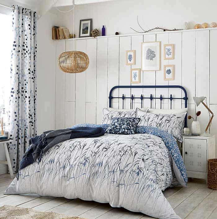 Kết quả hình ảnh cho cách chọn  rèm cửa họa tiết cho phòng ngủ