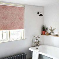 Các ý tưởng rèm phòng tắm cho cửa sổ