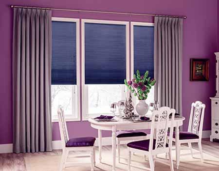 Mẫu rèm vải cho cửa sổ