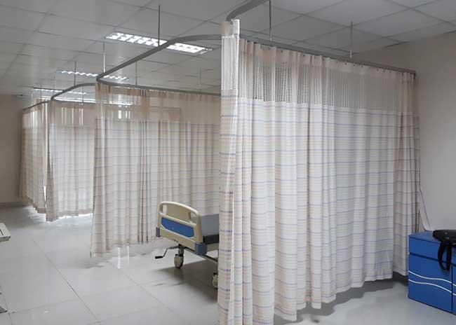 Rèm y tế ngăn giường bệnh chống nhiễm khuẩn